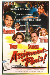 Assignment: Paris 1952 DVD - Dana Andrews / George Sanders